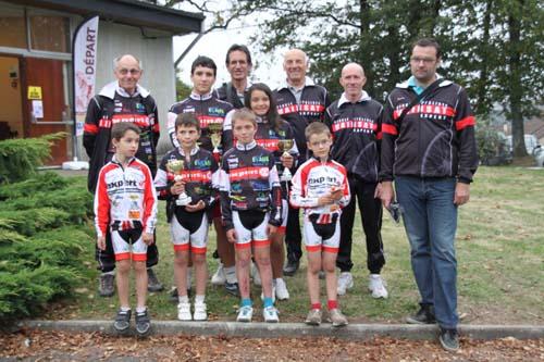 Rassemblement jeunes cyclistes à la Souterraine