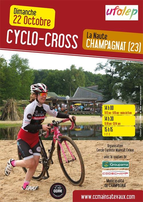 Affiche cyclo-cross UFOLE La Naute 2017