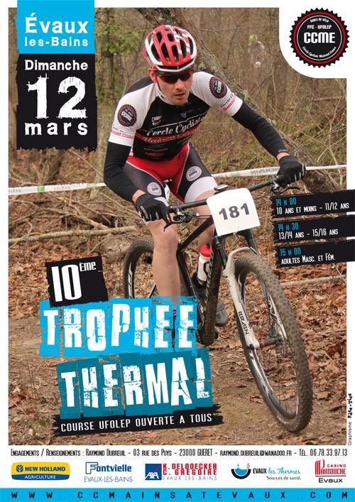 10ème Trophée Thermal VTT à Evaux-les-Bains