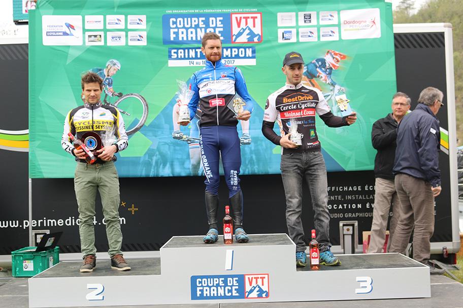 2ème manche coupe de France VTT à Saint-Pompon - Team Creuse Mainsat Evaux
