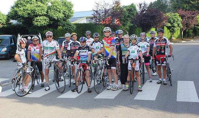 Trophée cyclo Claude Camus Dominique Grange Auzances 2017