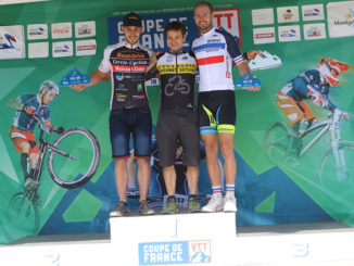 Podium Coupe de France VTT 2017 Montgenèvre