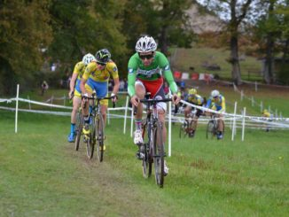Julien Surville cyclo-cross FFC de Bridiers 2017