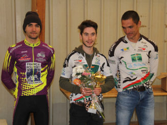 Podium cyclo-cross UFOLEP La Naute 2017