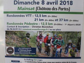 Challenge Vert VTT 2018 à Mainsat