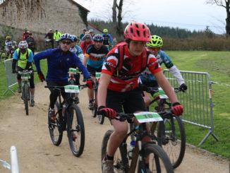 Départ du Challenge Vert VTT 2018 à Mainsat château des Portes