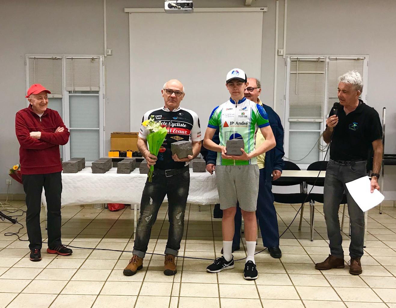 Daniel Arquey vainqueur Enfer de la Limagne 2018