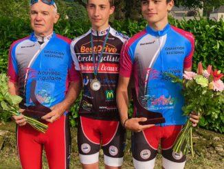 Daniel Arquey et Quentin Monthieux champions UFOLEP 2018 de Nouvelle Aquitaine