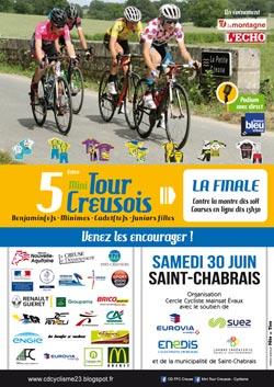 Finale Mini Tour Creusois 2018 à Saint-Chabrais