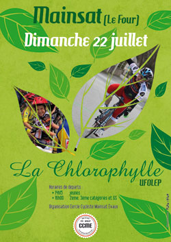 Cyclosportive La Chlorophylle UFOLEP à Mainsat