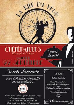 Soirée dansante La Nuit du Vélo à Chénérailles
