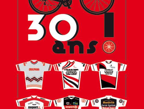 Affiche 30 ans Cercle Cycliste Mainsat Evaux