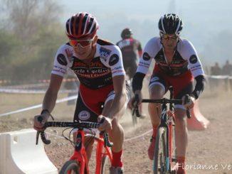 Lilian et Mickaël LOUIS au cyclo-cross de Bridiers