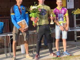 Bastien RAVEL vainqueur du cyclo-cross UFOLEP 2018 à Ahun