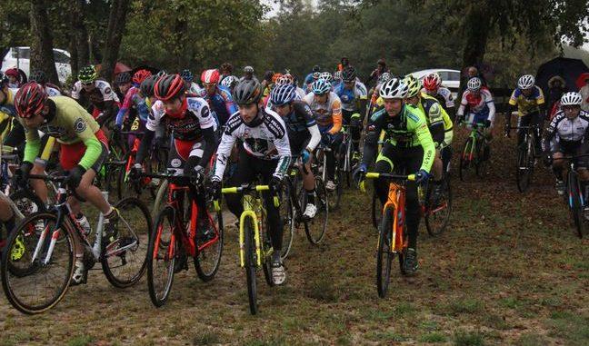 Départ cyclo-cross UFOLEP 2018 à La Naute