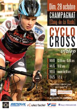 Cyclo-cross UFOLEP 2018 Champagnat La Naute