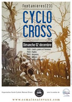 Cyclo-cross FFC  Fontanières 2018