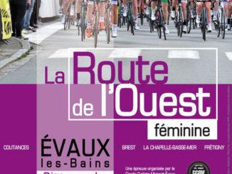 Affiche Route de l'Ouest féminine à Evaux-les-Bains