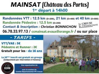 Affiche Challenge Vert VTT à Mainsat