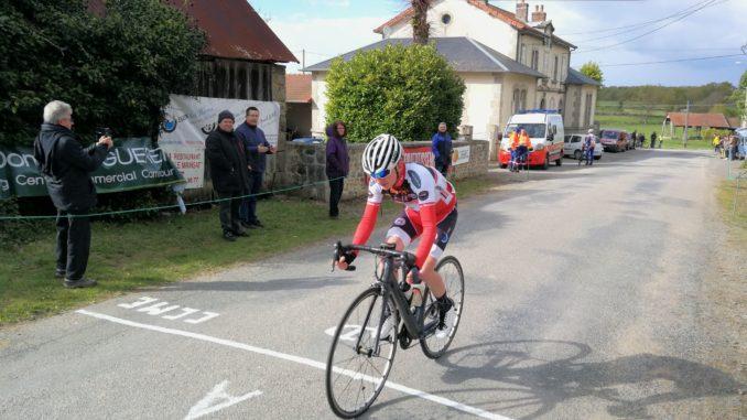 Loïc RABIER vainqueur à Saint-Priest-d'Evaux