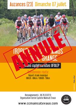 Trophée cyclo Claude Camus à Auzances