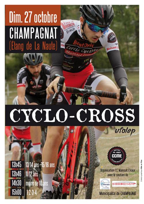 Cyclo-cross UFOLEP Champagnat La Naute