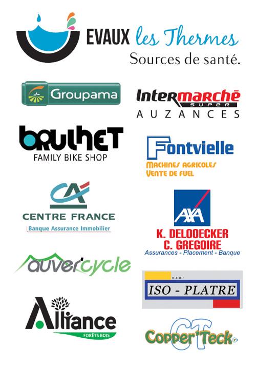 Partenaires 2019 CC Mainsat Evaux