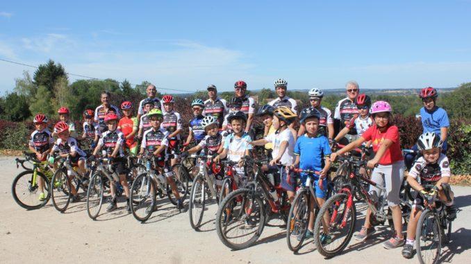 Ecole de cyclisme labellisée Cercle Cycliste Mainsat Evaux en Creuse