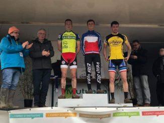 Lilian LOUIS vice champion de France UFOLEP de cyclo-cross à Saint-Jean-d'Angely