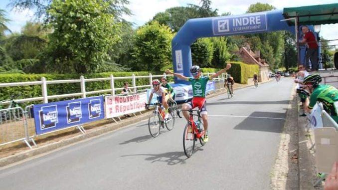Lucas DELARBRE vainqueur à Châteauroux